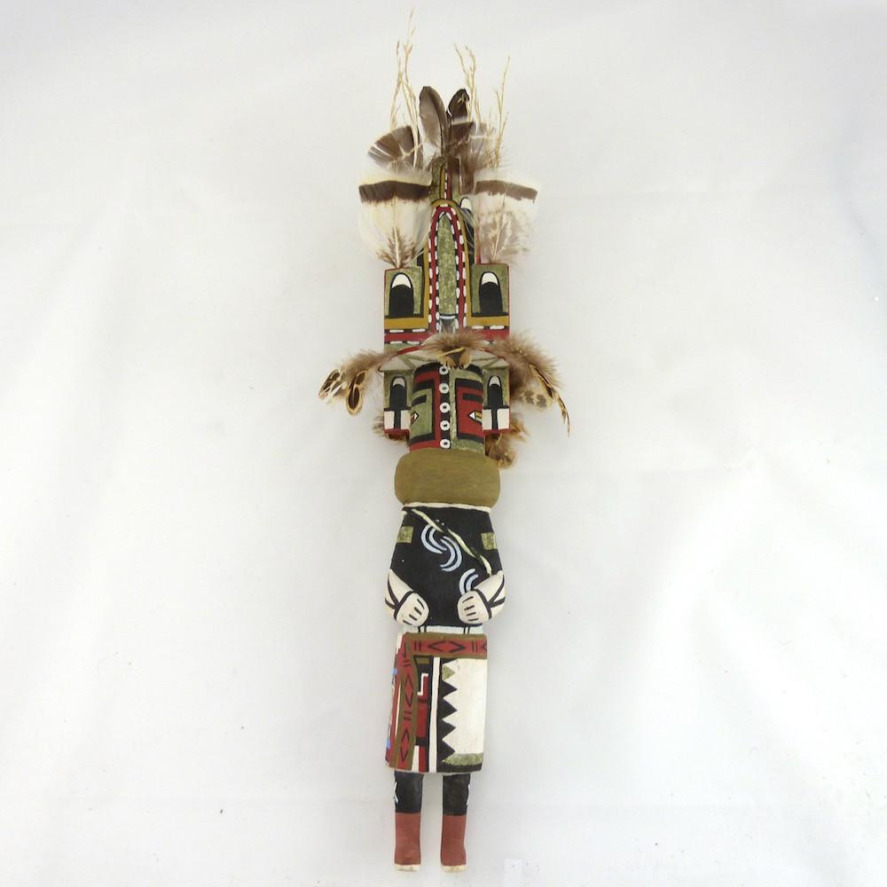 Hemis Mana Kachina, Lloyd Honhongva, Kachinas, Garland's Indian Jewelry