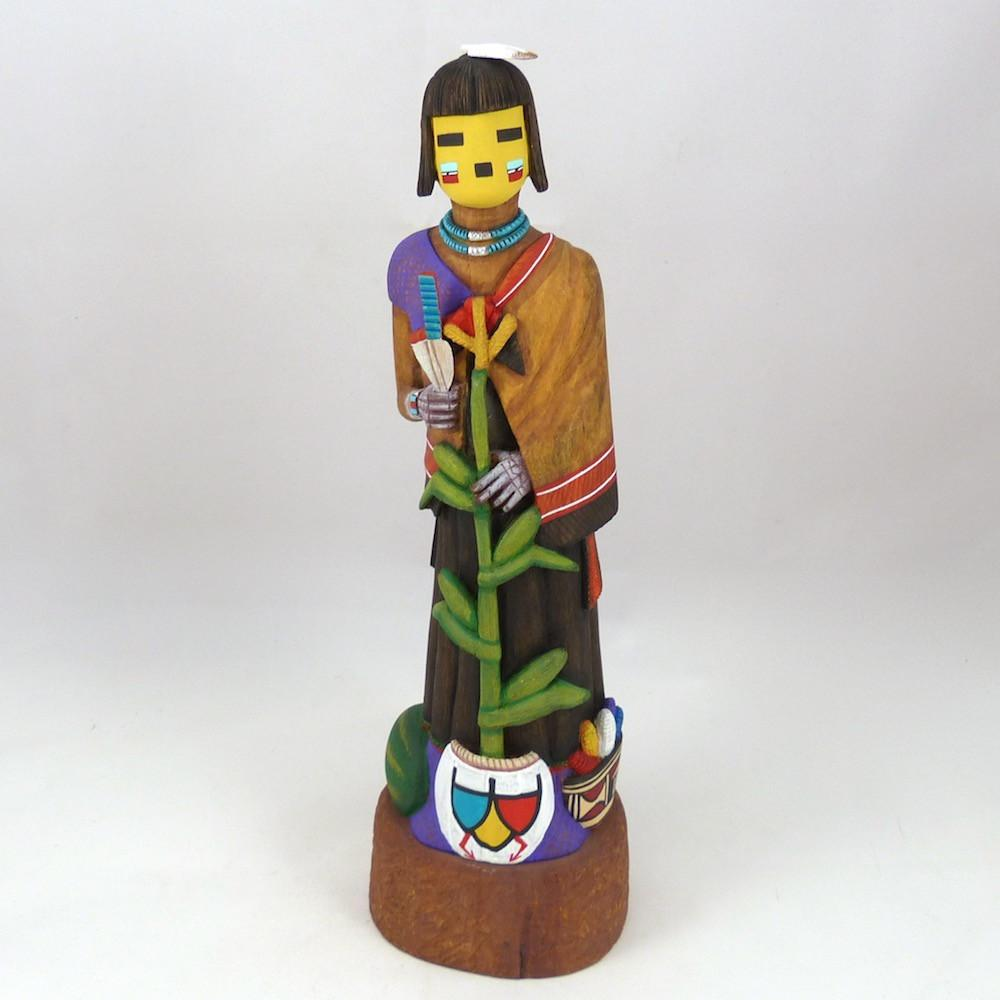 Corn Maiden Sculpture - Kachinas - Orin Poley - 1