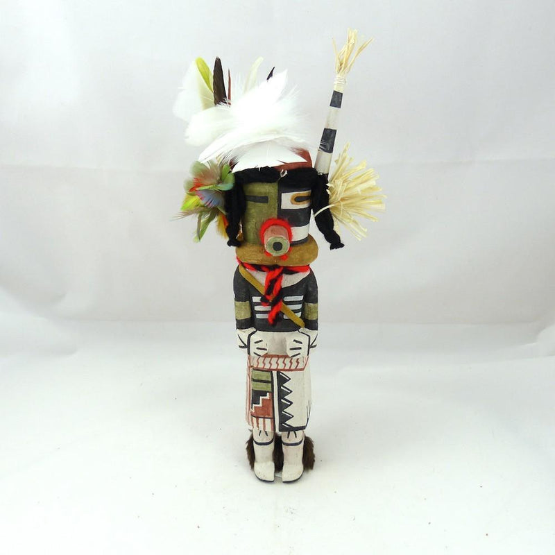 Clown and Corn Kachina, Bobby Talahytewa, Kachinas, Garland's Indian Jewelry
