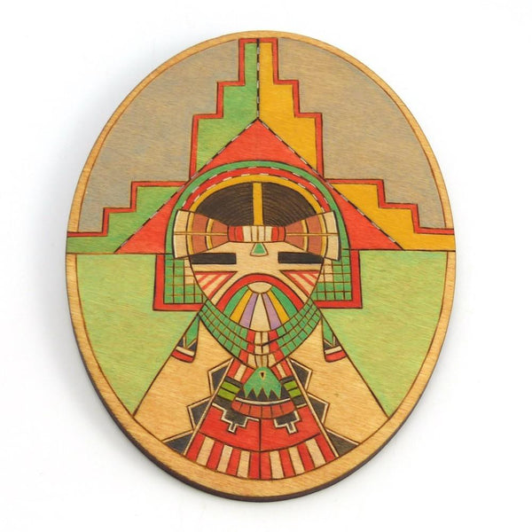 Shalako Kachina Wall Hanging, Ted Pavatea, Kachinas, Garland's Indian Jewelry