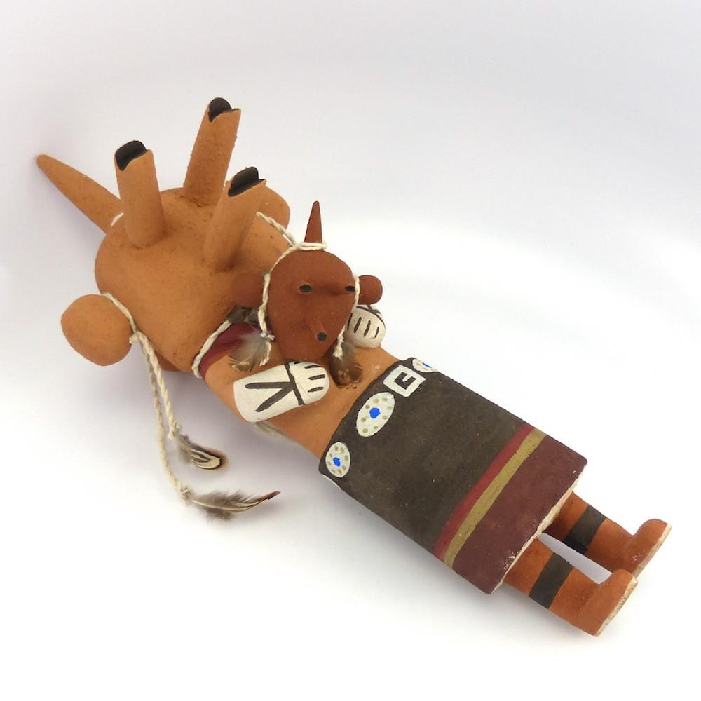 Mudhead Kachina, Lloyd Honhongva, Kachinas, Garland's Indian Jewelry