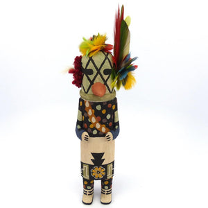 Old Style Bean Dance Kachina, Tawma Lalo, Kachinas, Garland's Indian Jewelry