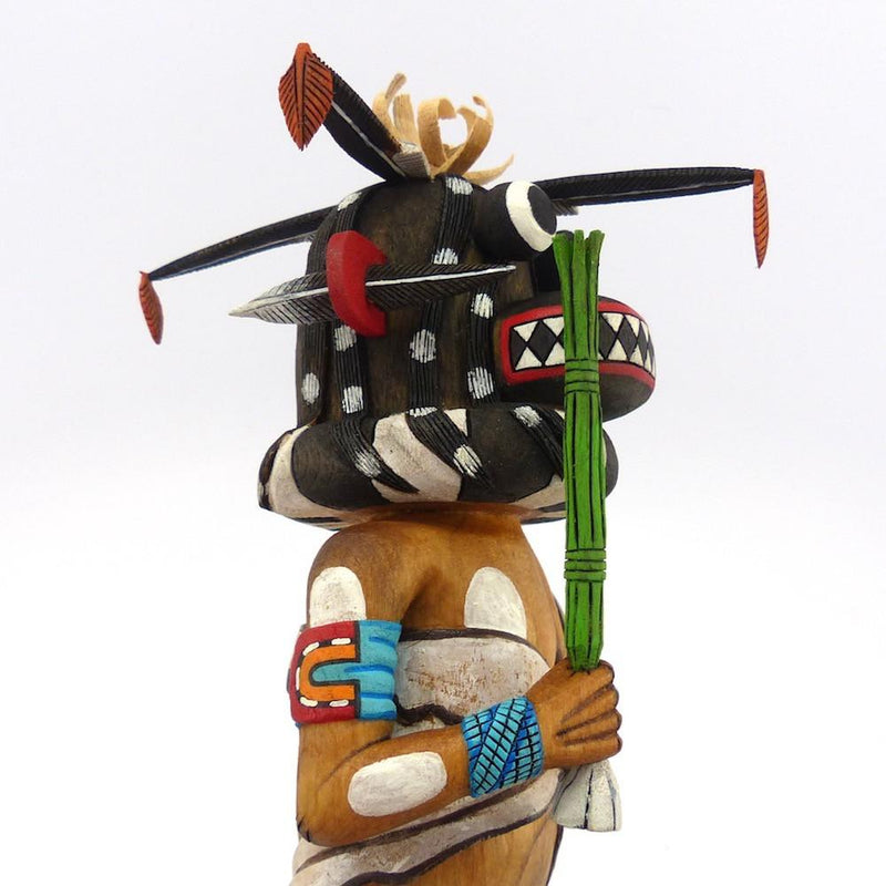 Black Ogre Kachina, Alban Mooya, Kachinas, Garland's Indian Jewelry