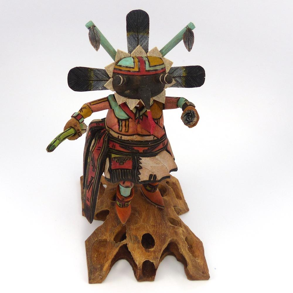 Long Billed Kachina, Eric Roy, Kachinas, Garland's Indian Jewelry