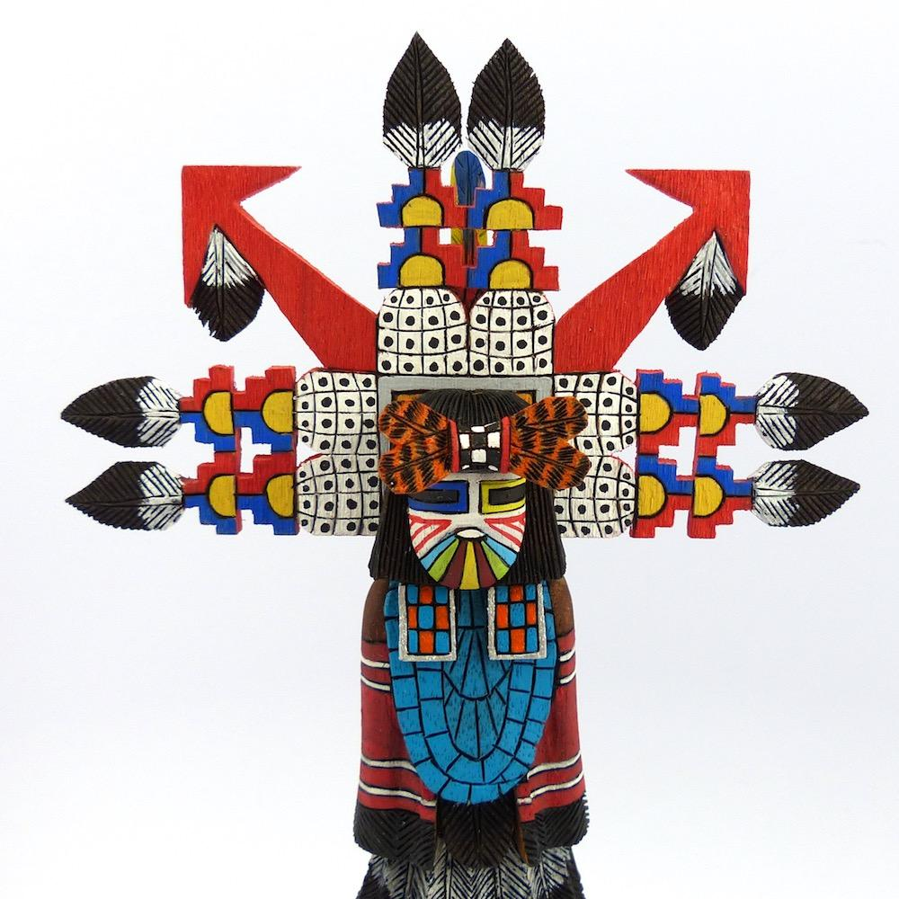 Male Shalako Kachina, David Randolph, Kachinas, Garland's Indian Jewelry