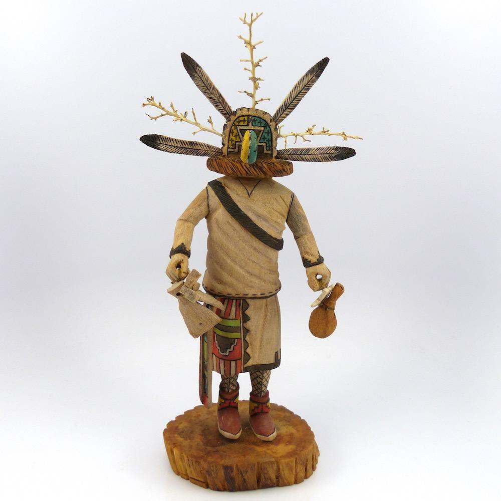 Ancient One Chief Kachina, Tino Youvello, Kachinas, Garland's Indian Jewelry