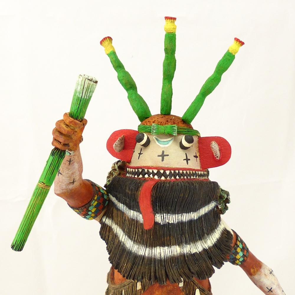 Prickly Pear Cactus Kachina