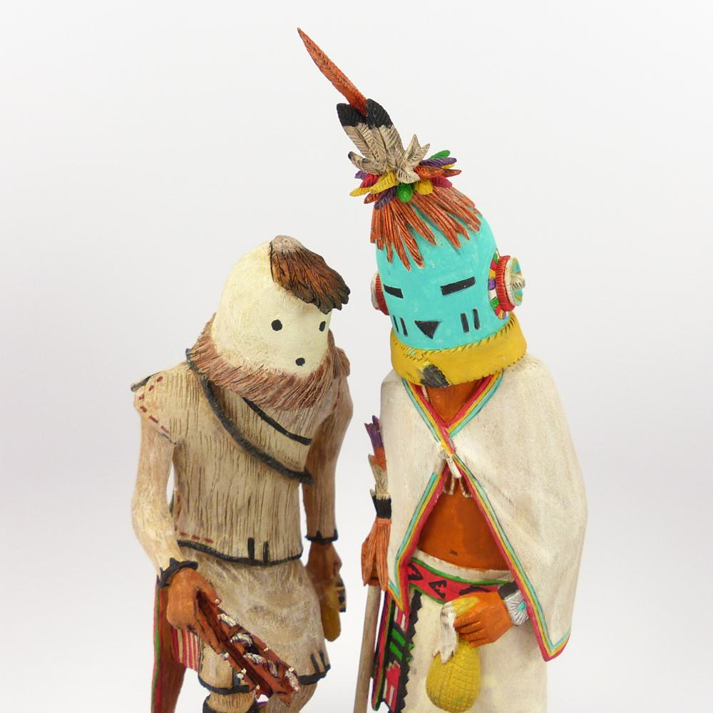 Eototo and Aholi Kachina