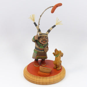 Clown and Puppy Kachina