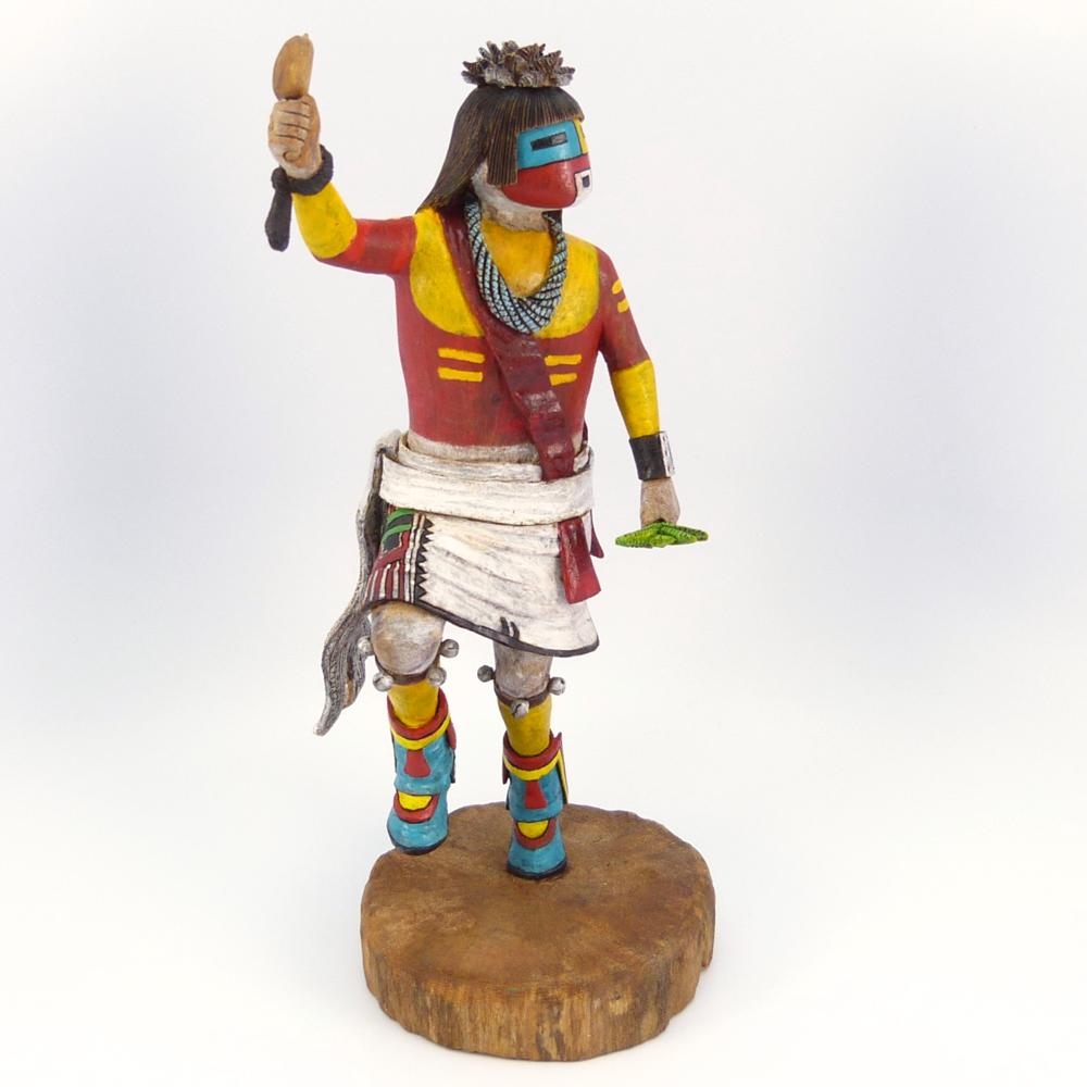 White Chin Priest Kachina