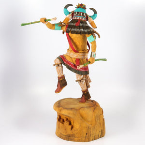 Blue Whipper Kachina