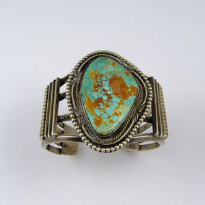 1990s Pilot Mountain Turquoise Cuff