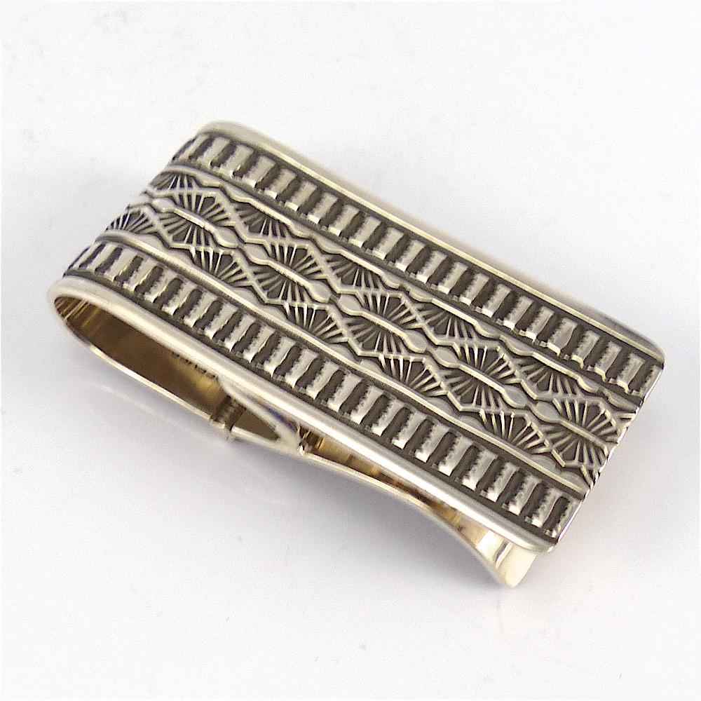 Stamped Silver Money Clip - Jewelry - Sunshine Reeves - 1