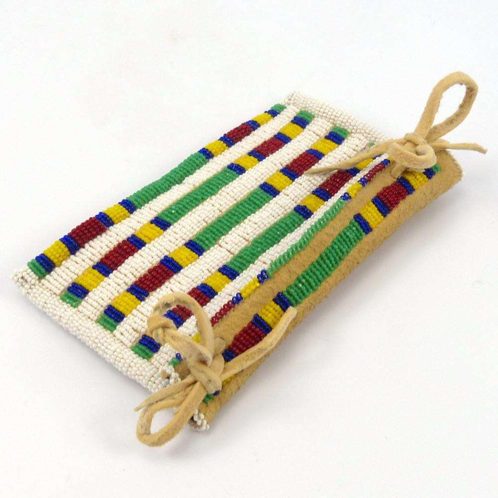 Beaded TeePee Bag, Ken Williams, More, Garland's Indian Jewelry