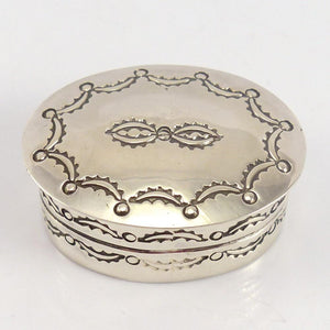 Silver Container - Jewelry - Lutricia Yellowhair - 1
