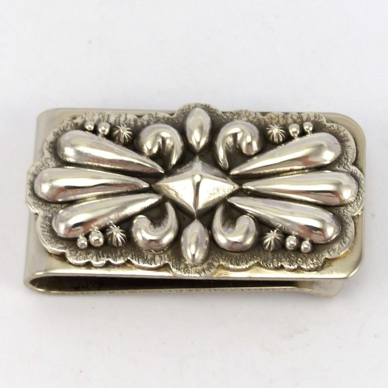 Silver Money Clip, Thomas Jim, Jewelry, Garland's Indian Jewelry