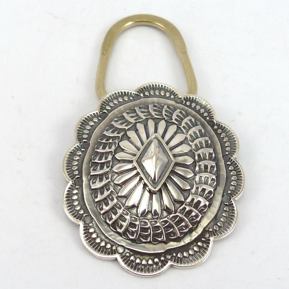 Stamped Silver Key Chain, Sunshine Reeves, Jewelry, Garland's Indian Jewelry