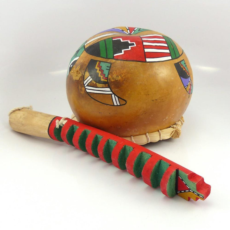 Musical Gourd Instrument, David Roy, More, Garland's Indian Jewelry