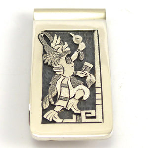 Badger Kachina Money Clip, Ronald Wadsworth, Jewelry, Garland's Indian Jewelry