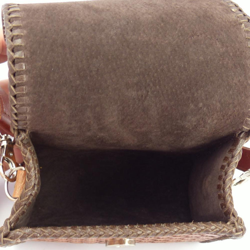 Cognac Leather Handbag, Jennifer Curtis and Ray Skeets, More, Garland's Indian Jewelry