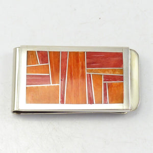 Spiny Oyster Shell Money Clip