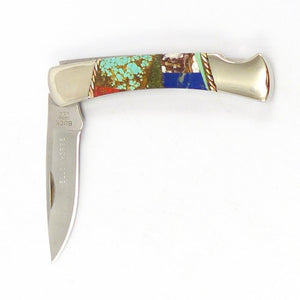 Inlaid Buck Knife