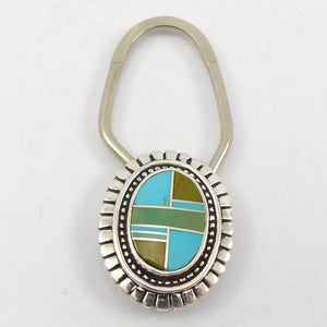 Inlaid Key Ring