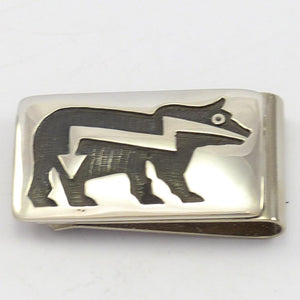 Heartline Bear Money Clip