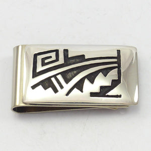 Prayer Feather Money Clip