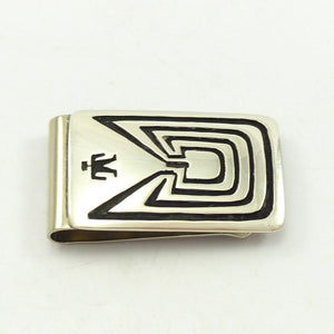 Man in the Maze Money Clip