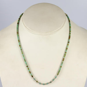 Cripple Creek Turquoise Heishi Necklace