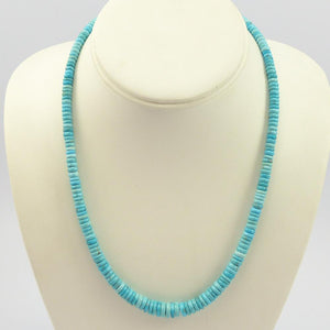 Silver Bell Turquoise Necklace