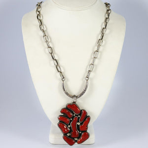 1970s Coral Necklace