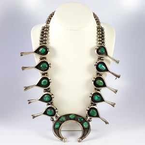 1960s Squash Blossom Necklace