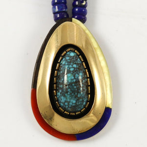 1970s Lander Blue Turquoise Necklace