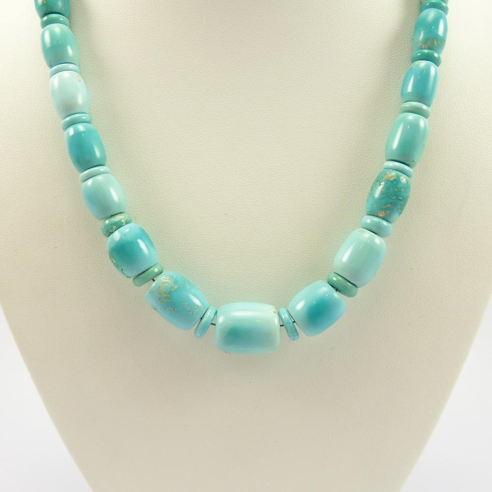 Fox Turquoise Necklace