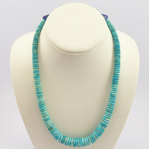 Sleeping Beauty Turquoise Bead Necklace