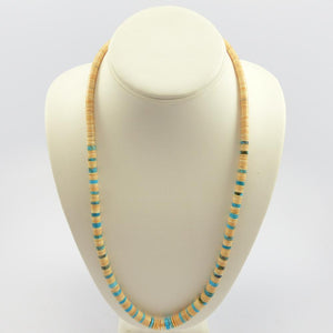 Shell and Turquoise Necklace