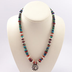 Multi-stone Bead Necklace