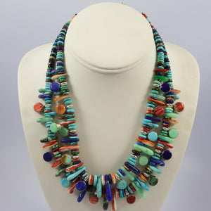 Double-Strand Treasure Necklace