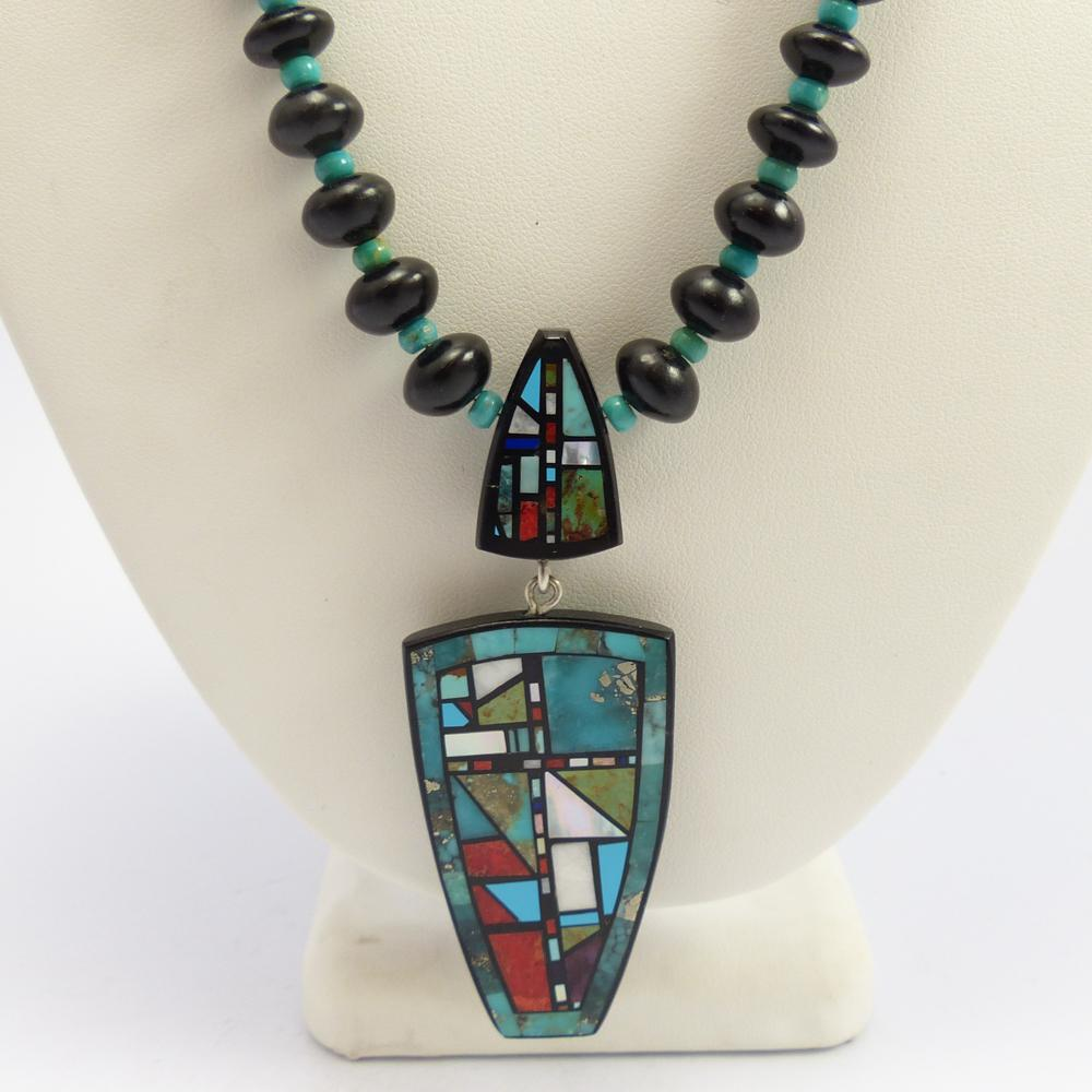 Mosaic Inlay Necklace