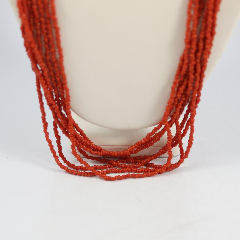 1970s Glass Bead Necklace