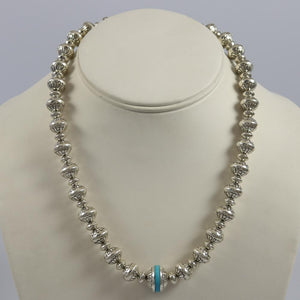 Turquoise Navajo Peal Necklace