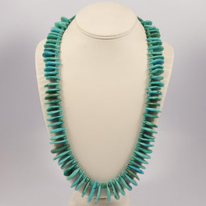 1970s Turquoise Tab Necklace