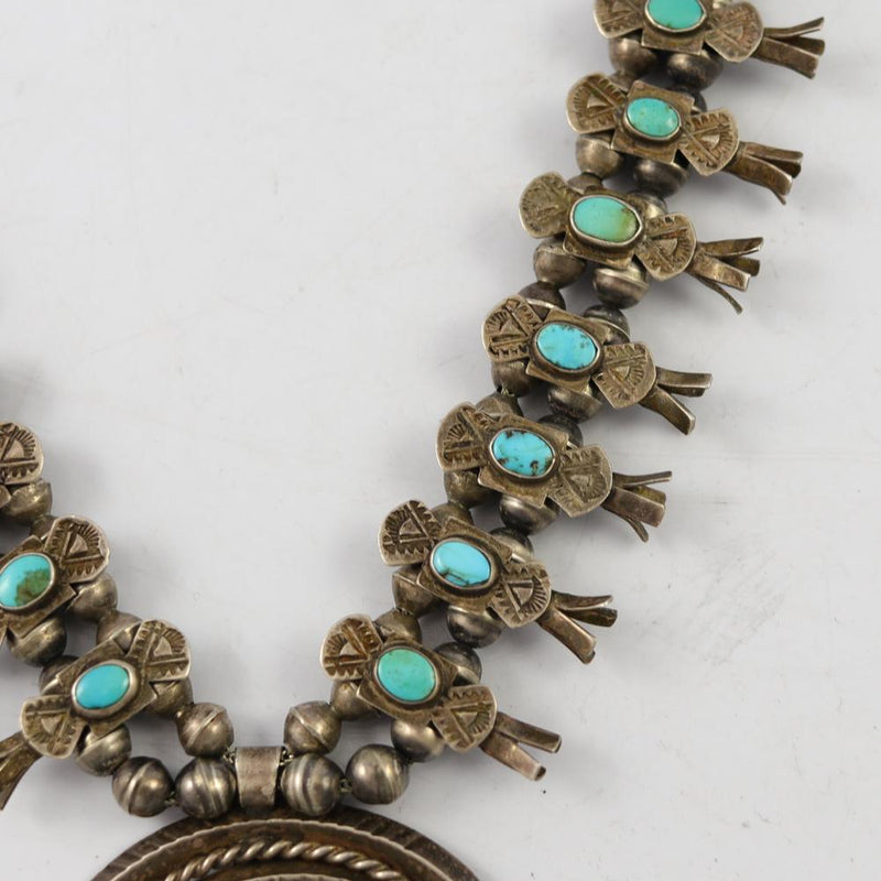 1930s Squash Blossom Necklace