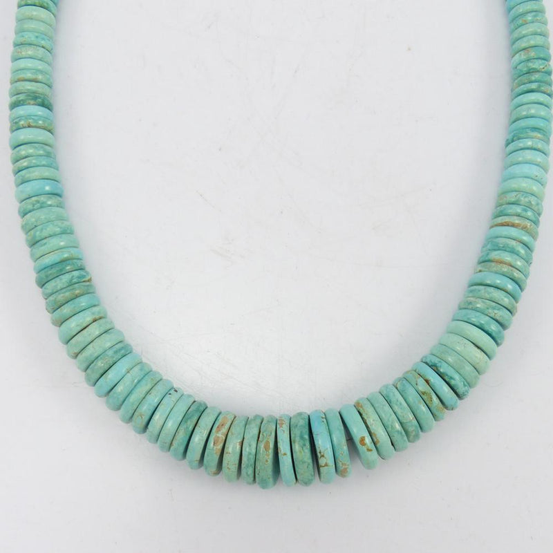 Misty Blue Turquoise Necklace