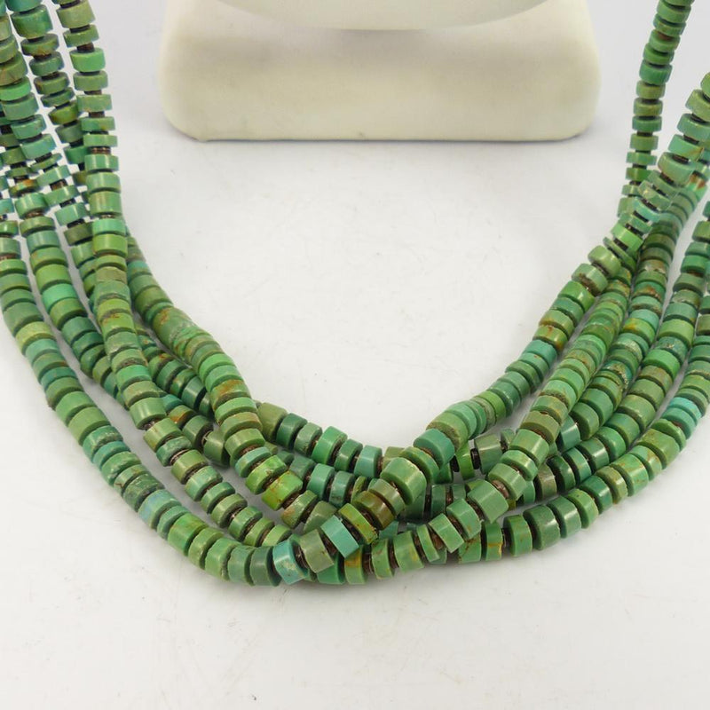 Kingman Turquoise Bead Necklace
