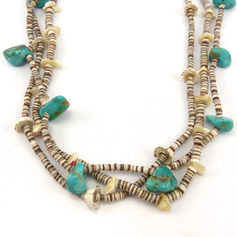 1940s Heishi Necklace, Vintage Collection, Jewelry, Garland's Indian Jewelry