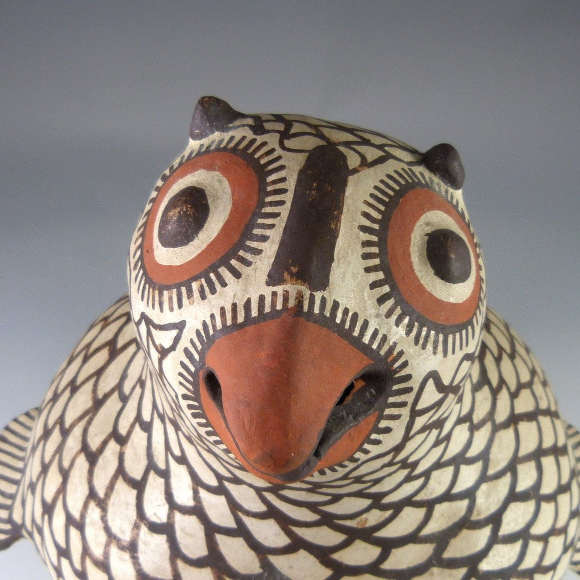 1920-1940 Owl Effigy Pot