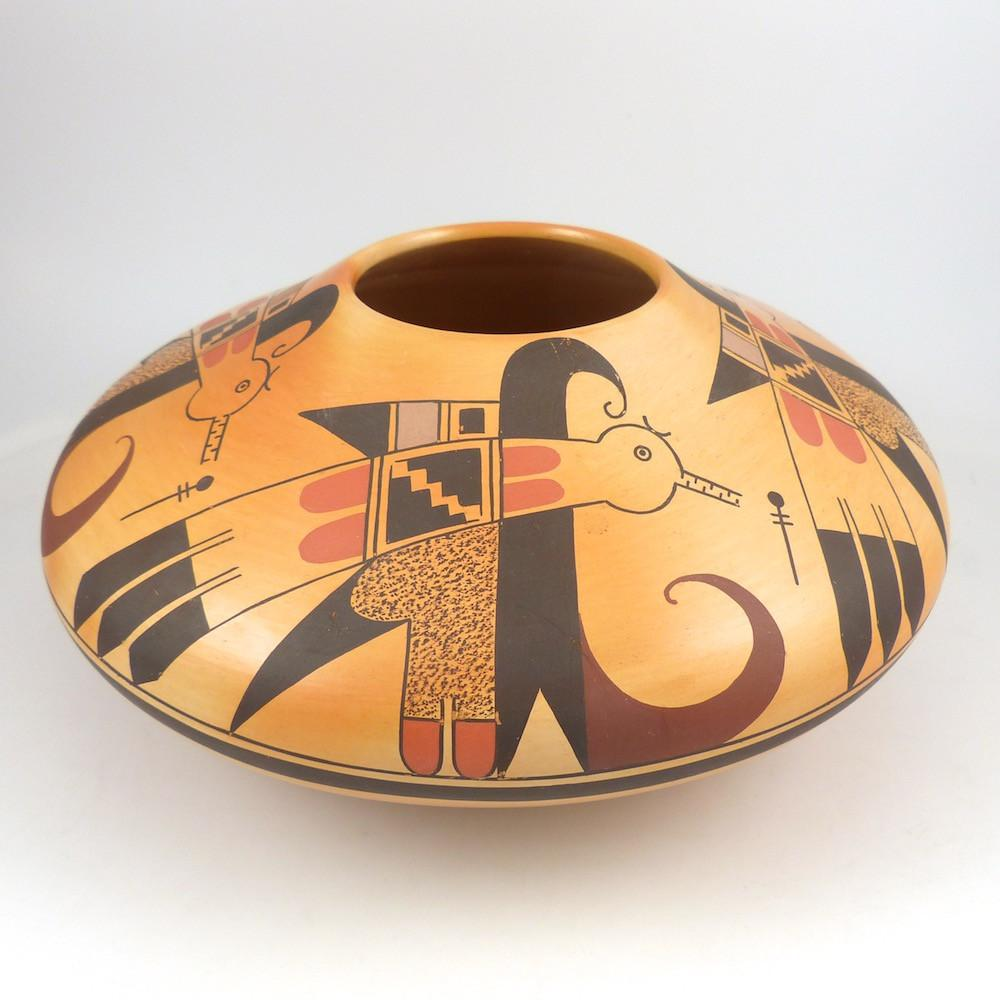 """Ancient Thunderbird"" Pot - Pottery - Dianna Tahbo - 1"